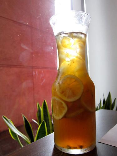 Iced Tea at O'sonho