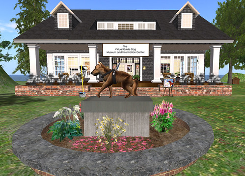 Vision Quest on Storybook Island: The Virtual Guide Dog Museum and Information Center