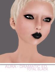 Aura Dramatic Ed. - Total Black Makeup