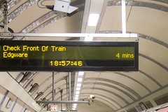 These do one thing and they do it well: tell riders when their next train is arriving.