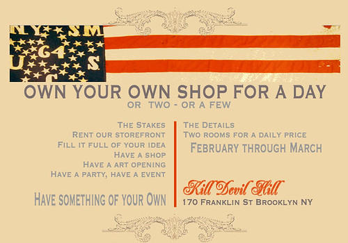 Own Your Own Shop