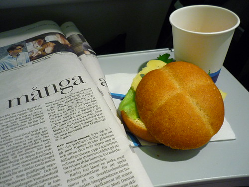 Finnair snack