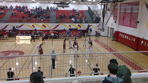 Franklin Pierce vs White River High School
