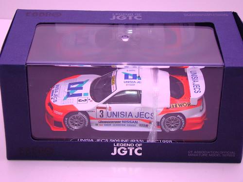 EBBRO UNISIA JECS SKYLINE R33 JGTC 1998 (7)