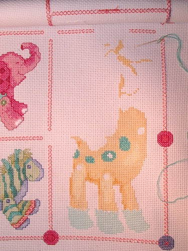 detail of giraffe