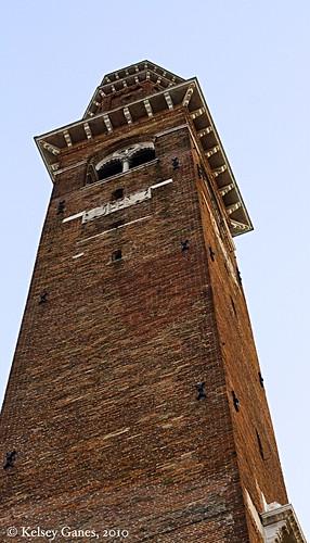 Vicenza, Basilica Palladiana Clocktower, Andrea Palladio, Veneto, clocktower, tower, Renaissance, architecture, Italy, Italia