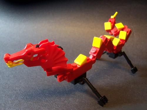 LEGO monsterbrick chinese dragon