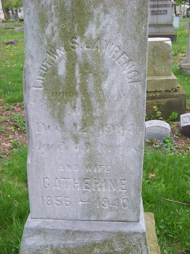 Lieut. Wm. S. Lawrence and wife Catherine