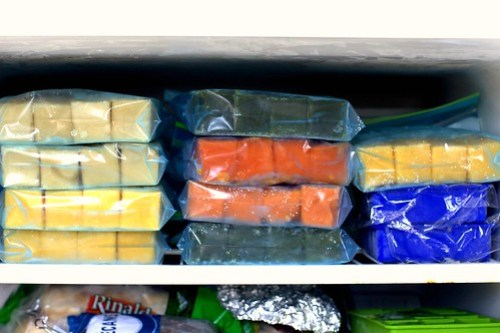 the state of the freezer