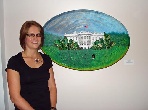 The Lone Beader Boston Harvard bead artist the Cambridge Art Association's Northeast Prize Show!