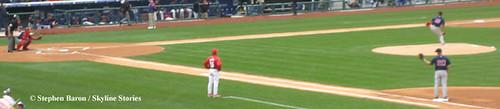 Daisuke Matsuzaka Warms Up Before Major League Ballpark Debut