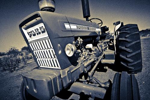 Old Desert Tractor
