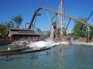 Cedar Point - Shoot the Rapids Testing