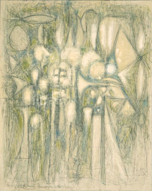 Richard Pousette-Dart, White Sound, 1949-50.