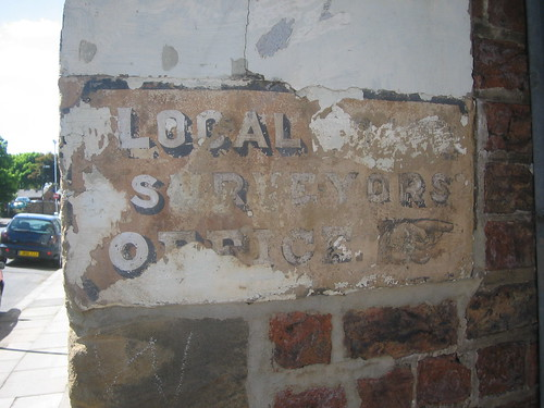 Ghost Sign, Guisborough