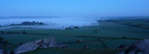 Receeding Mist