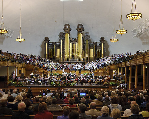 Mormon Tabernacle Choir Rehearsal