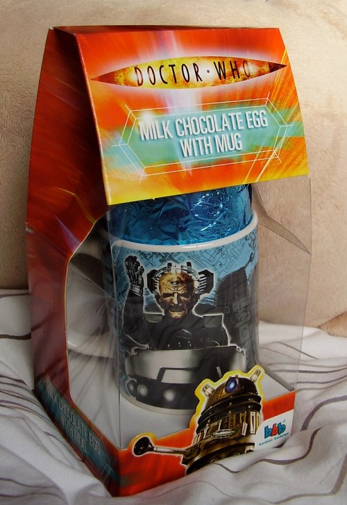 DR WHO - 2010 Easter Egg + Mug