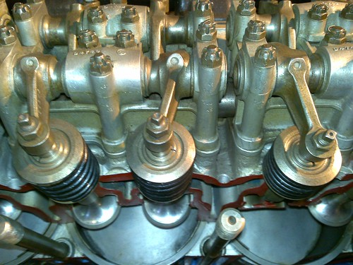 Rolls Royce engines in Derby: Merlin I