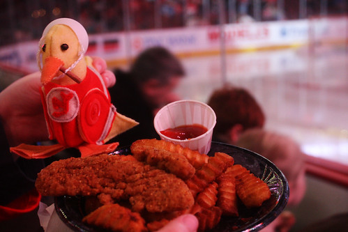 Chuck With Chicken Fingers
