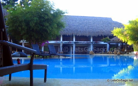 One of the Pool Areas in Maribago Bluewater Beach Resort
