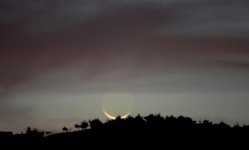 New Moon Setting