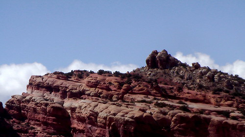 hiking Navajo Knobs, Utah