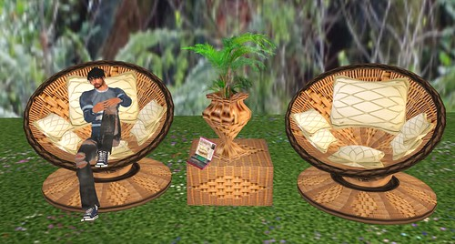ECD Wicker set