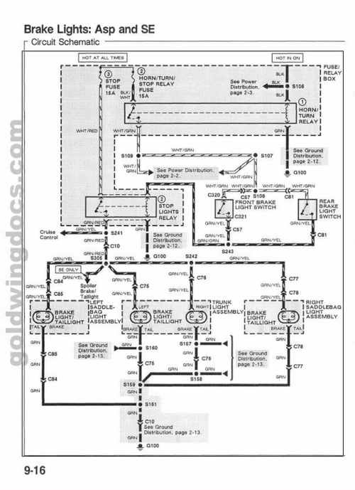 small resolution of 1992 gl1500 wiring diagram wiring diagram third level rh 8 8 16 jacobwinterstein com 1995 honda goldwing wiring diagram honda goldwing 1500 wiring diagrams