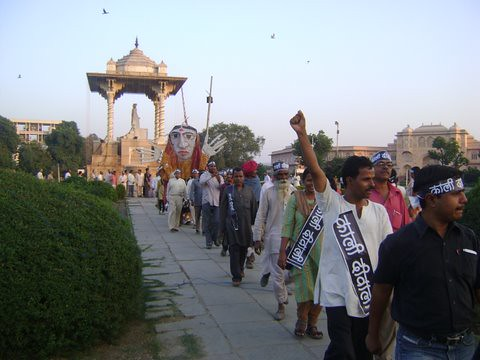 Pics from the satyagraha - 5 Nov 2010 - 24