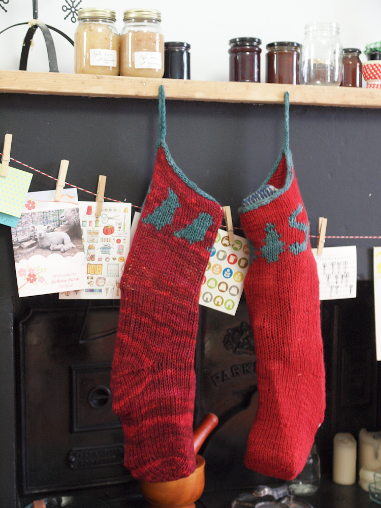 lumpy stockings
