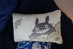my neighbor totoro pillow!