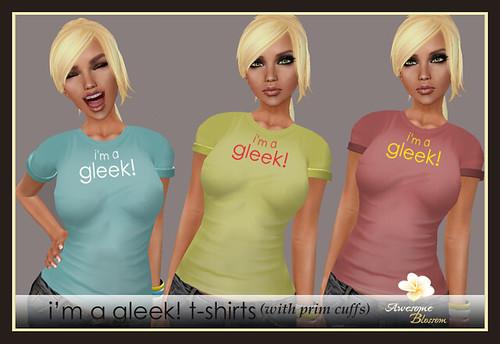 :: Awesome Blossom :: I'm a Gleek! T-shirts