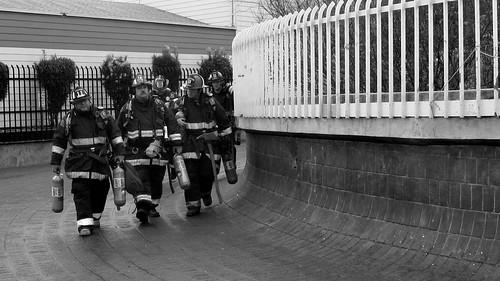 Firemen on the Rotunda