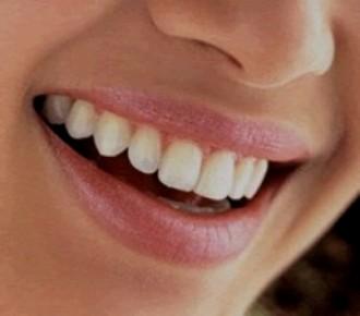 boca sonriendo