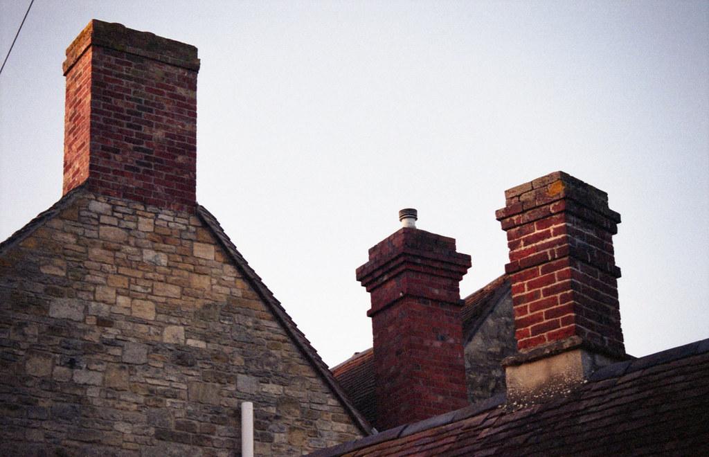Old Headington chimneys