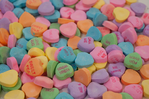 Jan 31 - Candy Hearts