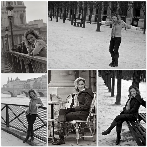 paris portraits bw