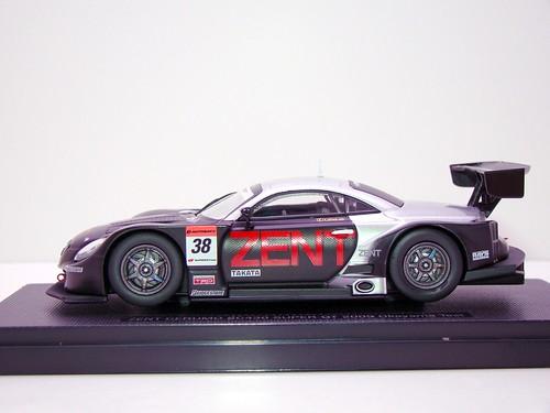 EBBRO ZENT CERUMO SC430 SUPER GT 2009 OKAYAMA TEST (2)
