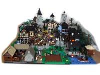 MOC: Medieval Market Village Diorama - LEGO Historic ...