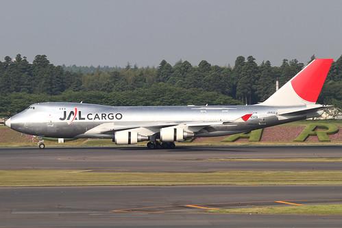 JAL B747-400F(JA402J)