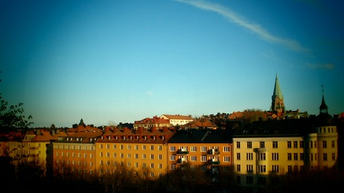 Overlooking Sodermalm