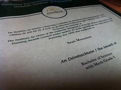 degree parchment