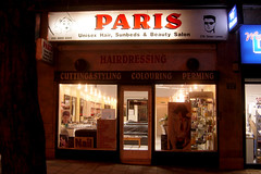 Paris beauty salon