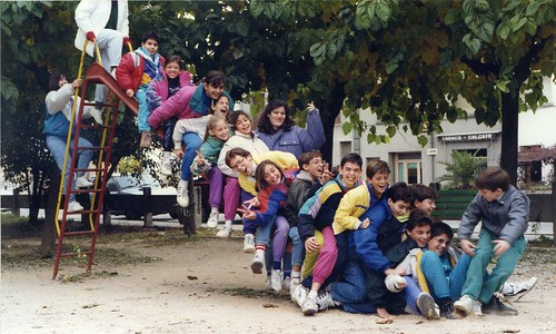 Àlbum Curs 1991-92 i colònies a Castell de l'Areny'92