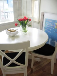 white kitchen table and chairs | Kitchen Wallpaper