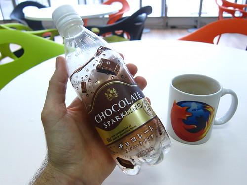 Chocolate-flavored soda
