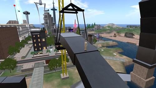 Rebuilding the Nova Albion Arch