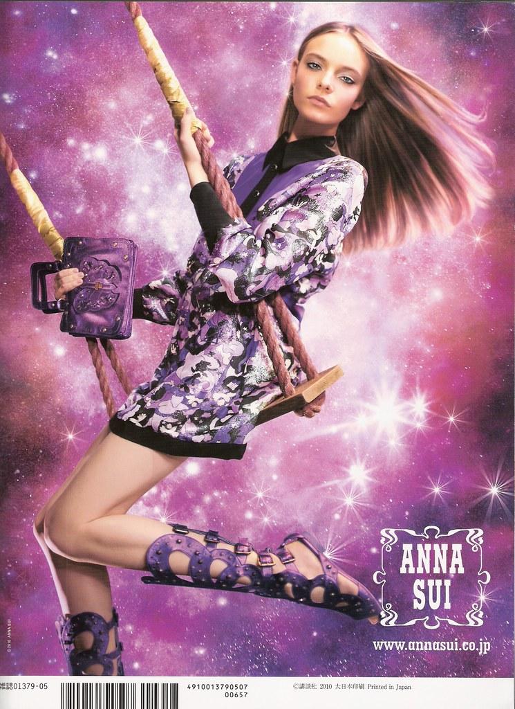 Vivi May Anna Sui ad.