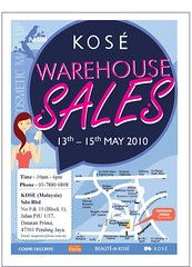 Kose warehouse sales